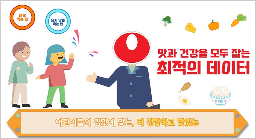 3.맛:탐 - 어린이에게 당류와 나트륨에 대해 알리고 섭취를 줄일 수 있도록 계획된 어린이 미각 개선 프로그램입니다.